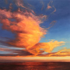 Taken Away - seascape painting Contemporary Impressionism 21st