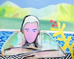 The Peacock, Erin Armstrong, Acrylic on Canvas