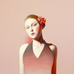 Bloom by Erin Cone, acrylic on canvas, modern realism, contemporary portrait