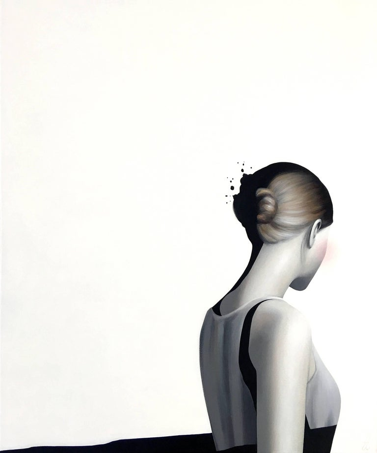 Diffuse by Erin Cone - acrylic on canvas - modern realism painting