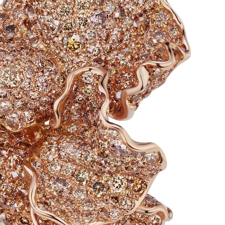 Mixed Cut Erith Earrings by Neha Dani For Sale