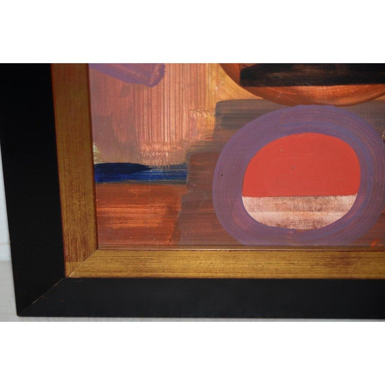 Erle Loran Mid Century Abstract Painting c.1964 For Sale 3