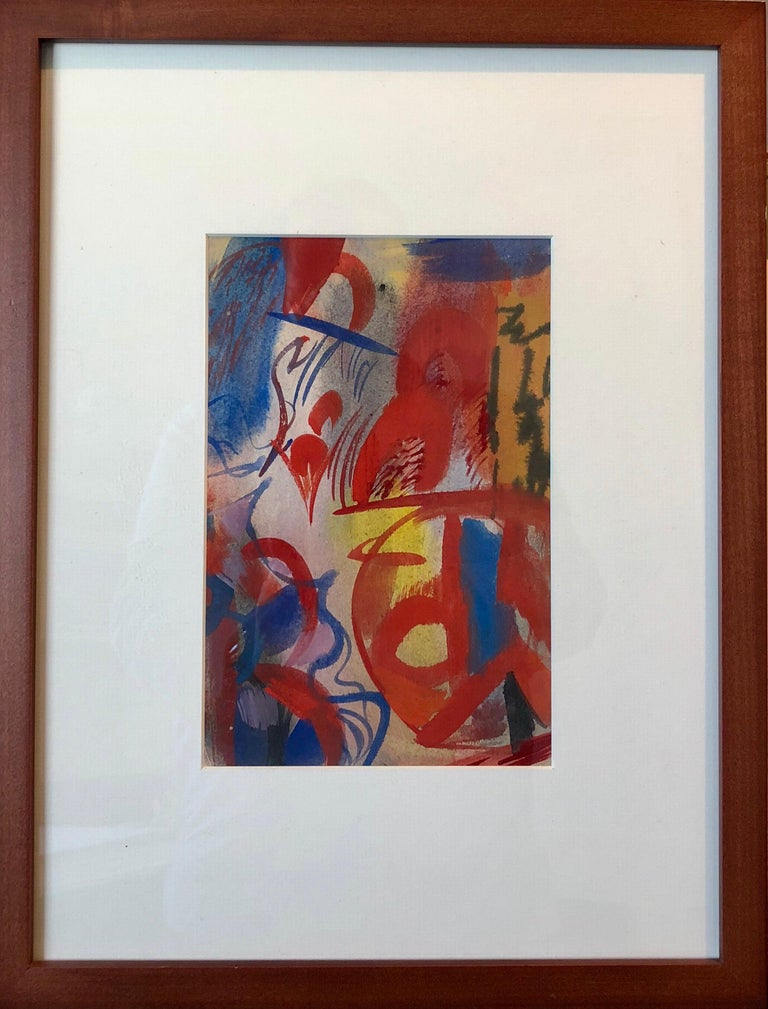 Mixed media on paper, each with estate of the artist label affixed verso. Born: October 3, 1905, Minneapolis, MN Died: May 13, 1999, Berkeley, CA Erle Loran was born in 1905 in Minneapolis, Minnesota on October 3, 1905. After graduating from the