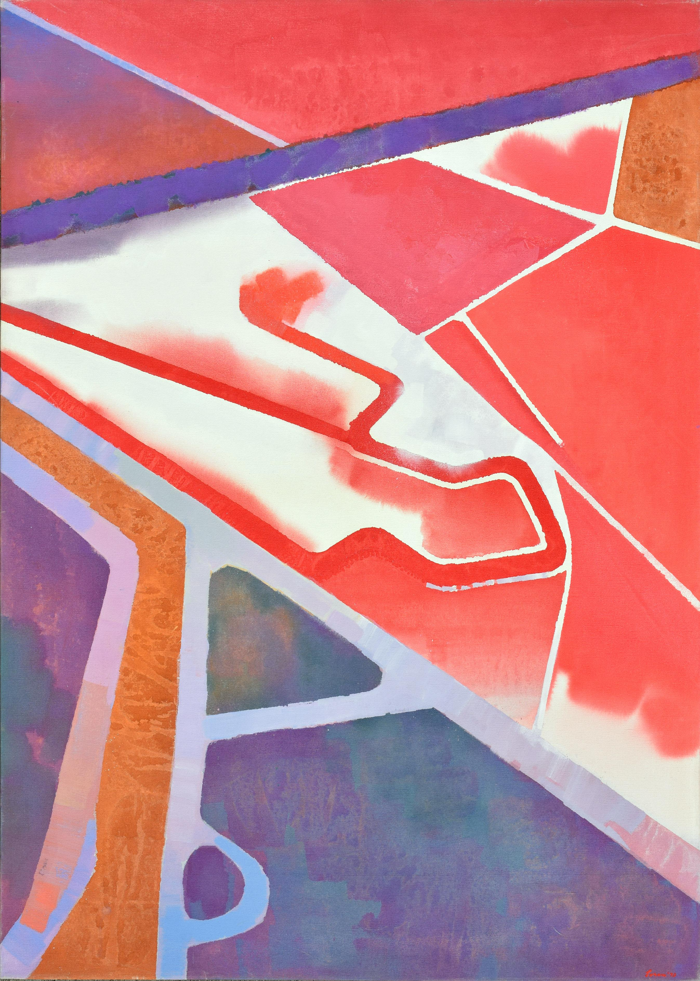 """""""Tidal Formations"""" - San Francisco Bay Abstract Geometric Landscape"""