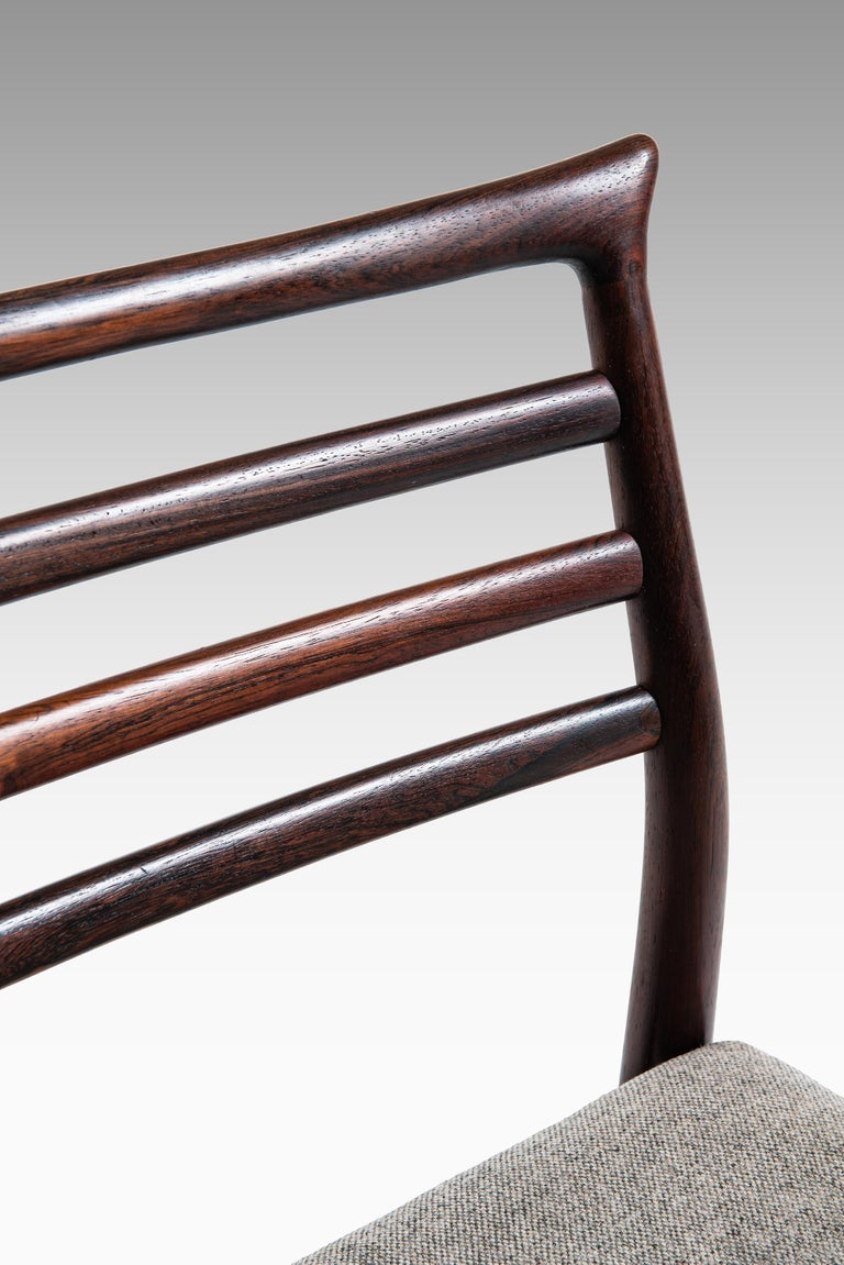 Erling Torvits Dining Chairs Produced by Sorø Stolefabrik in Denmark For Sale 1