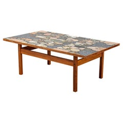 """Erling Viksjø """"Terazzo Conglo"""" Table Produced in Norway, 1960s"""