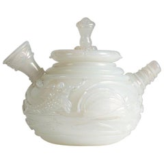 Ermanno Nason for Vetreria Cenedese, Rare Glass Orientalist Teapot, Italy, 1964