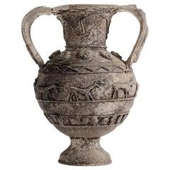 Ermanno Nason for Vetreria Cenedese, Scavo Glass Vase, Italy, 1964