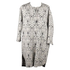 Ermanno Scervino Off-White Lace Dust Coat