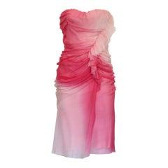 Ermanno Scervino Pink Cocktail Dress IT 40