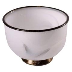 Ermanno Toso & Ercole Barovier Bowl Glass Murano, Italy, 1980s