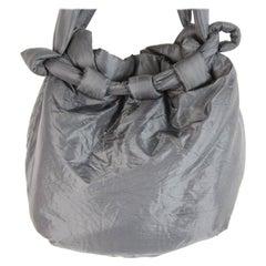 Ermanoo Scervino Gray Soft Tote Shopping Bag