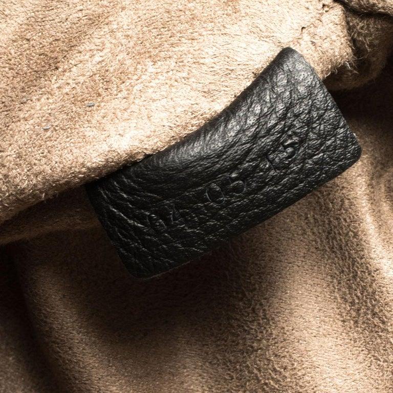 Ermenegildo Zegna Black Grained Leather Backpack 2