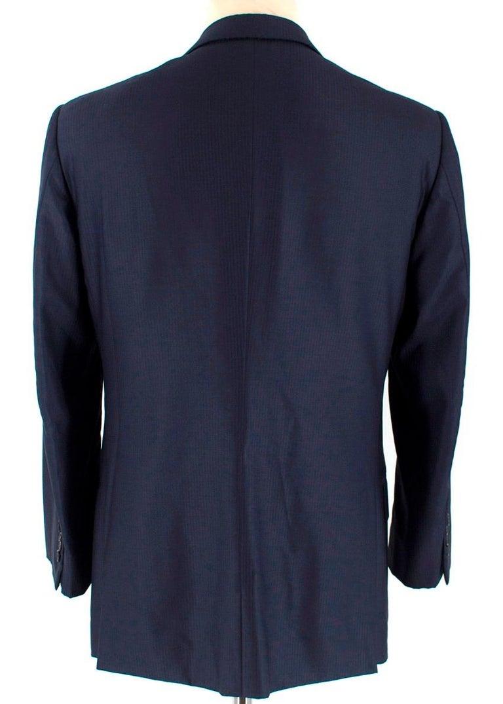 bbf7eef67e Ermenegildo Zegna Man Navy Suit Jacket IT 48