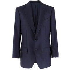 Ermenegildo Zegna Man Navy Suit Jacket - IT 48