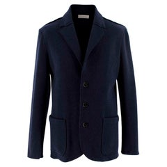Ermenegildo Zegna Navy Wool&Cashmere Blazer - Us size 38