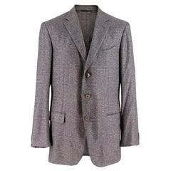 Ermenegildo Zegna Silk & Cashmere Fairway Jacket XL R 52