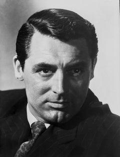 Cary Grant Dramatic Closeup Portrait Fine Art Print