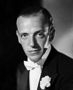 Fred Astaire in Formal Attire Closeup Movie Star News Fine Art Print