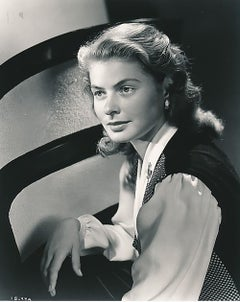 "Ingrid Bergman a ""One-of-a-Kind"" original 8 x 10 negative by Ernest Bachrach"