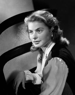 Ingrid Bergman in the Studio Fine Art Print