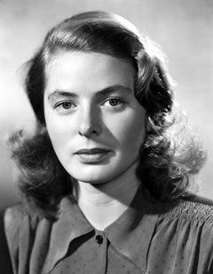 Ingrid Bergman: Stunning Closeup II Movie Star News Fine Art Print
