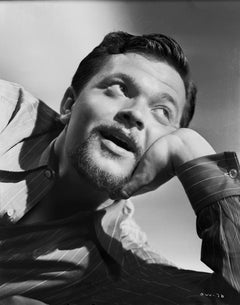 Orson Welles Looking Up Fine Art Print