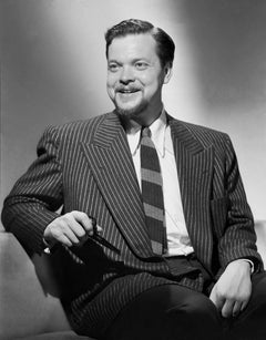 Orson Welles Posed with Big Smile in the Studio Movie Star News Fine Art Print