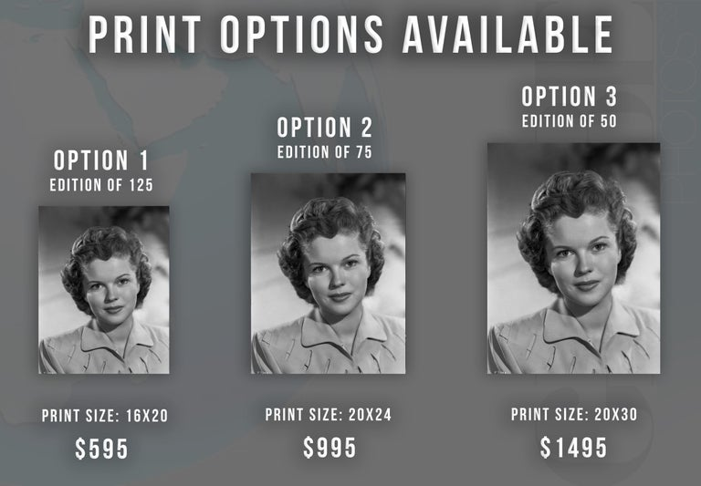 Shirley Temple: All Grown Up Fine Art Print - Photograph by Ernest Bachrach