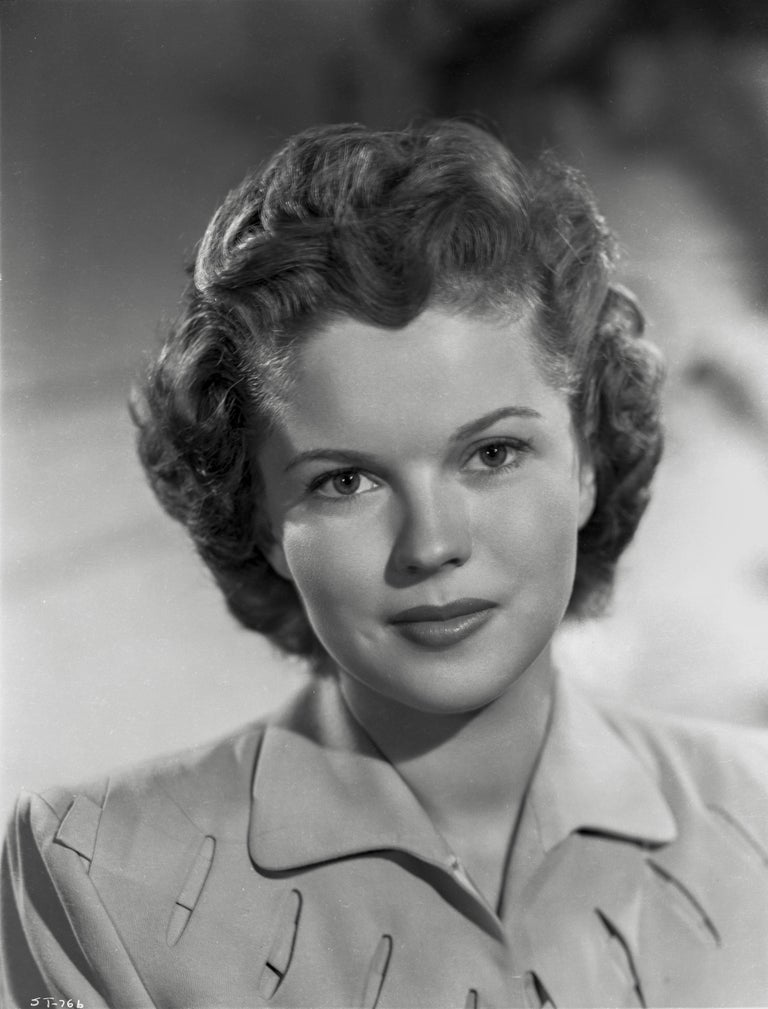Ernest Bachrach Black and White Photograph - Shirley Temple: All Grown Up Fine Art Print