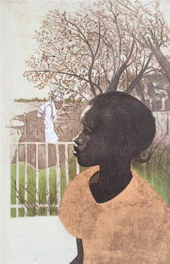 NEW DREAMS Signed Lithograph, Black History, African American Women