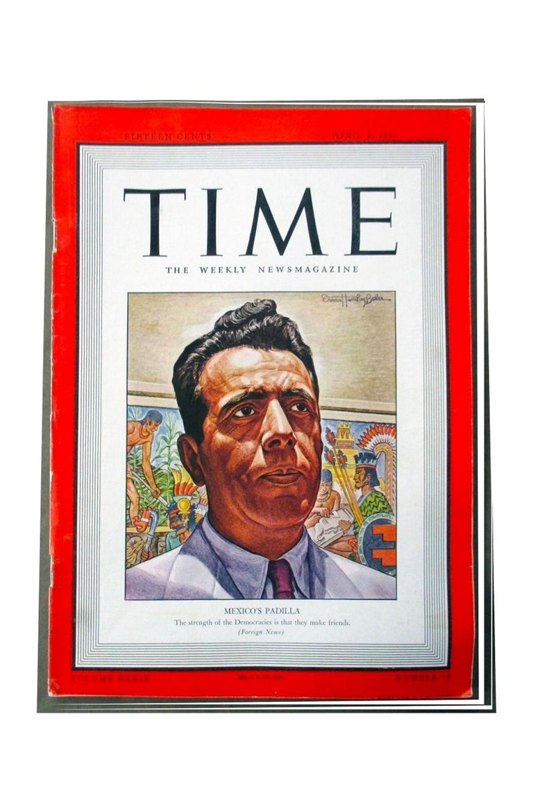 Time magazine cover, April 6, 1946 - Painting by Ernest Hamlin Baker