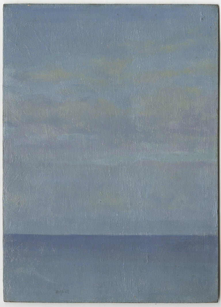 The Calm Sea - Painting by Ernest Haskell