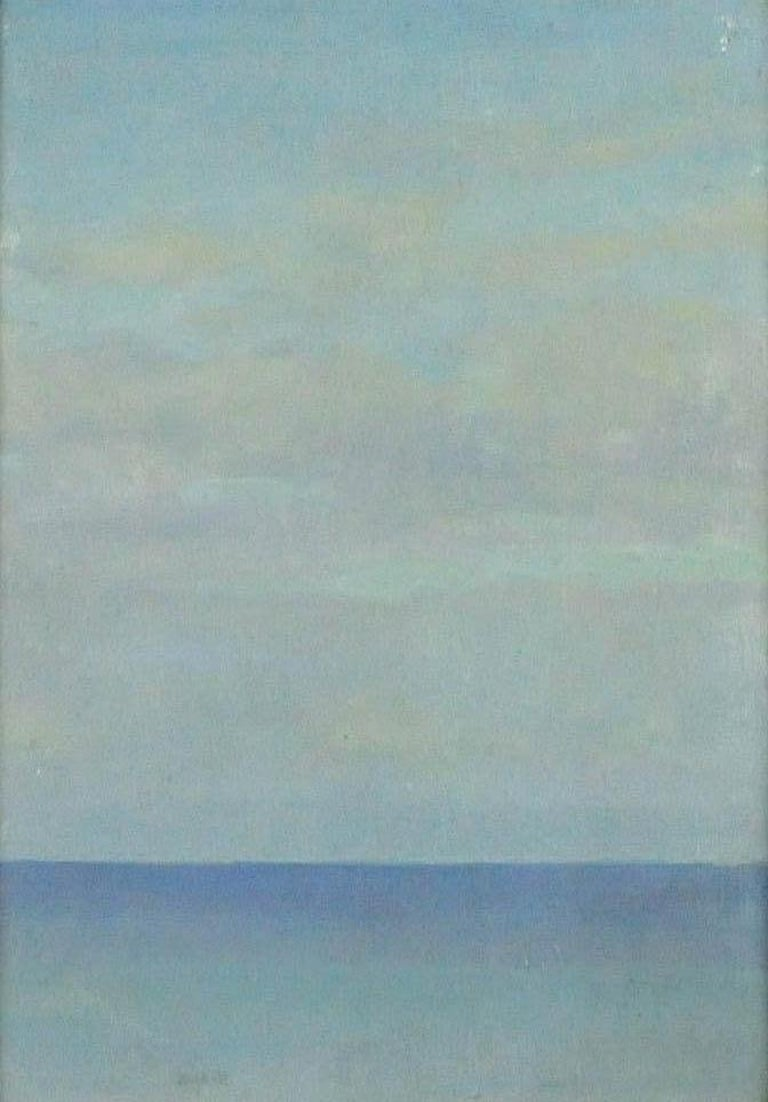 Ernest Haskell Landscape Painting - The Calm Sea