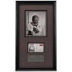 Ernest Hemingway Autographed Collage