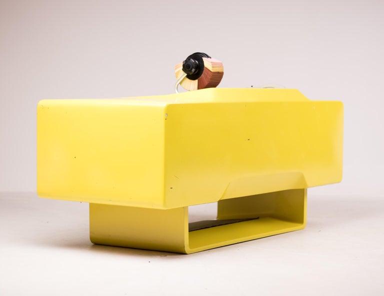 Ernest IGL Design Fiberglass Directors Desk by Wilhelm Werndl For Sale 2