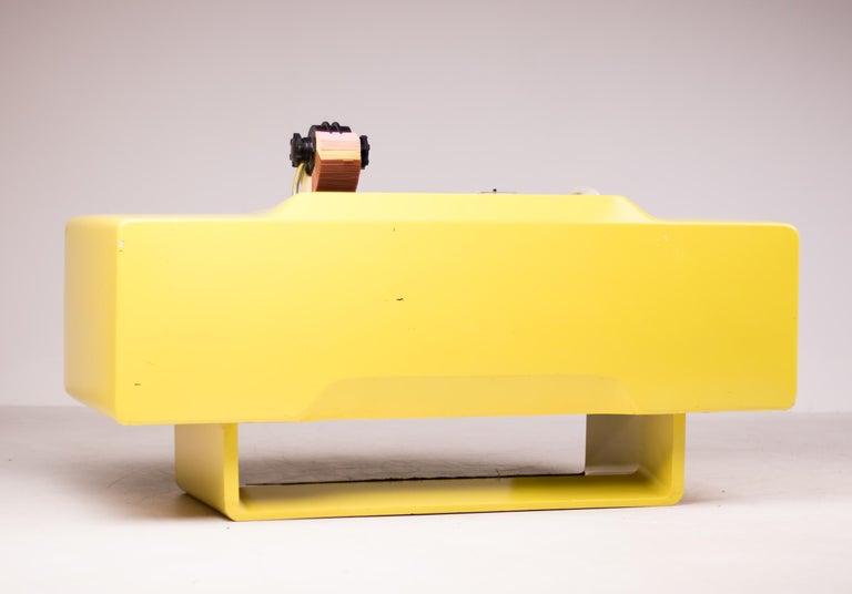 Ernest IGL Design Fiberglass Directors Desk by Wilhelm Werndl For Sale 1