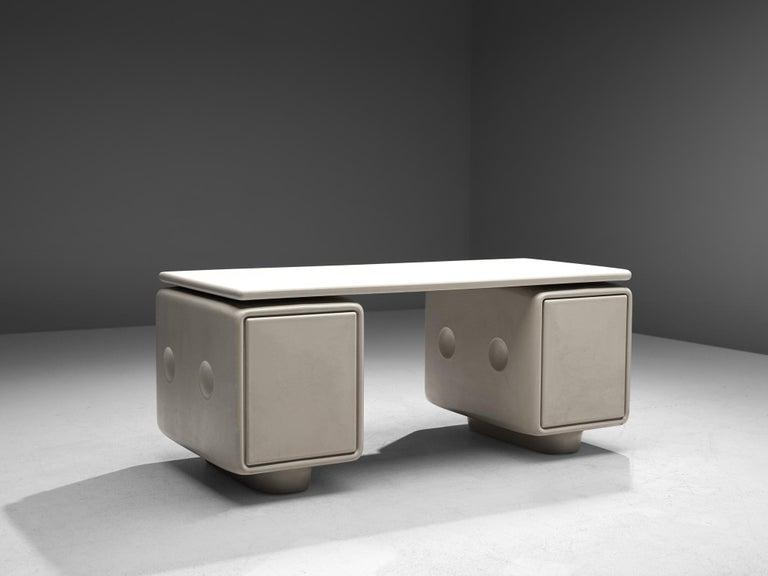 German Ernest Igl Futuristic 'Jet' Writing Desk by Ernest Igl For Sale