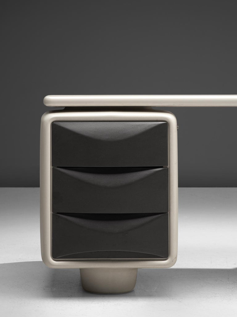 Mid-20th Century Ernest Igl Futuristic 'Jet' Writing Desk by Ernest Igl For Sale