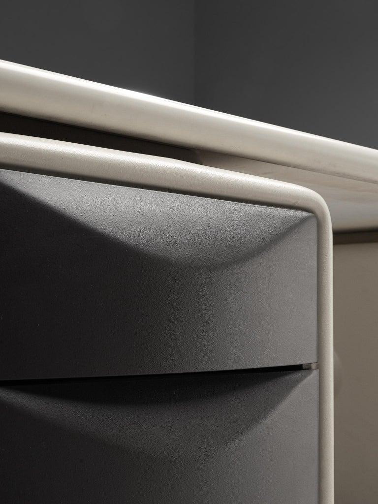 Plastic Ernest Igl Futuristic 'Jet' Writing Desk by Ernest Igl For Sale