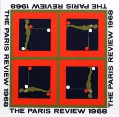 """Paris Review"", Silkscreen by Ernest Tino Trova"