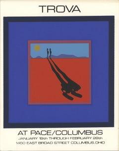 1972 After Ernest Trova 'Deck of 50 cards' Pop Art Blue,Multicolor USA