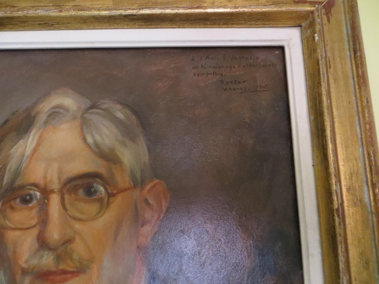 Self-Portrait of Ernest Vauthrin  For Sale 2
