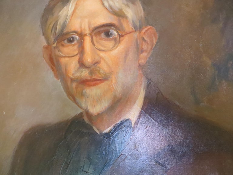 Self-Portrait of Ernest Vauthrin  For Sale 3