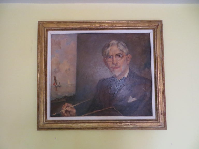 Self-Portrait of Ernest Vauthrin  For Sale 4