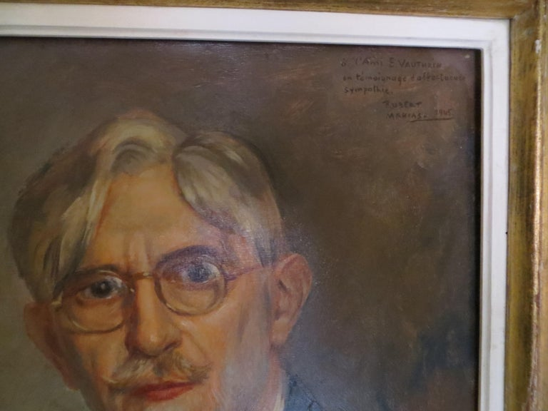 Self-Portrait of Ernest Vauthrin  For Sale 5