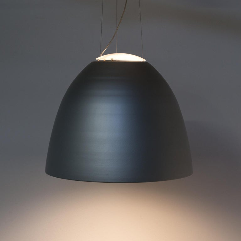 Ernesto Gismondi 'NUR' dimmable hanging lamp for Artemide. Good and working condition, dimmable, halogen lamp, first edition, consistent with age and use.