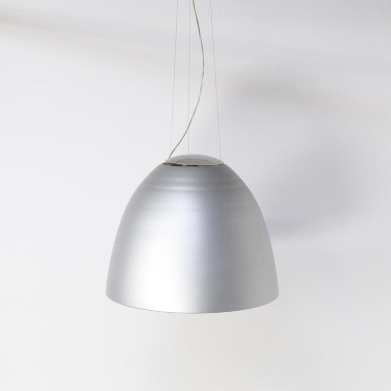 Aluminum Ernesto Gismondi 'NUR' Dimmable Hanging Lamp for Artemide For Sale