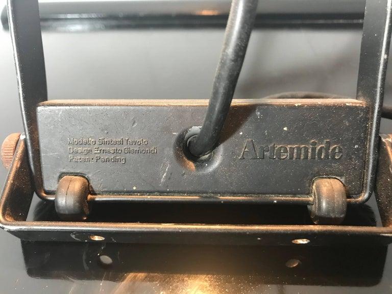 Late 20th Century Ernesto Gismondi Sintesi Table or Desk Lamp, Artemide For Sale