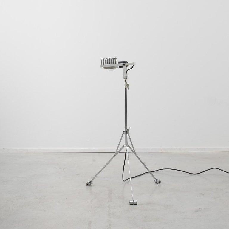 Metal Ernesto Gismondi Tripod Sintesi Lamp For Sale